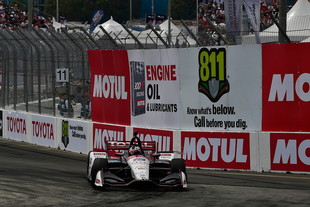 Graham Rahal, Rahal Letterman Lanigan Racing Honda<br /> Sunday 15 April 2018<br /> Toyota Grand Prix of Long Beach<br /> Verizon IndyCar Series<br /> Streets of Long Beach, California USA<br /> World Copyright: Scott R LePage<br /> LAT Images