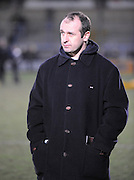 Wycombe, GREAT BRITAIN, Sale's, Director of Rugby, Philippe ST ANDRE before  the Guinness Premiership Game London Wasps vs Sale Sharks at Adam Park, is called off for a frozen pitch.  [10.02.2008]  [Photo, Peter Spurrier/Intersport-images