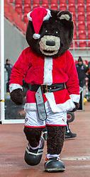 Rotherham United mascot in Santa attire - Mandatory by-line: Ryan Crockett/JMP - 16/12/2017 - FOOTBALL - Aesseal New York Stadium - Rotherham, England - Rotherham United v Plymouth Argyle - Sky Bet League One