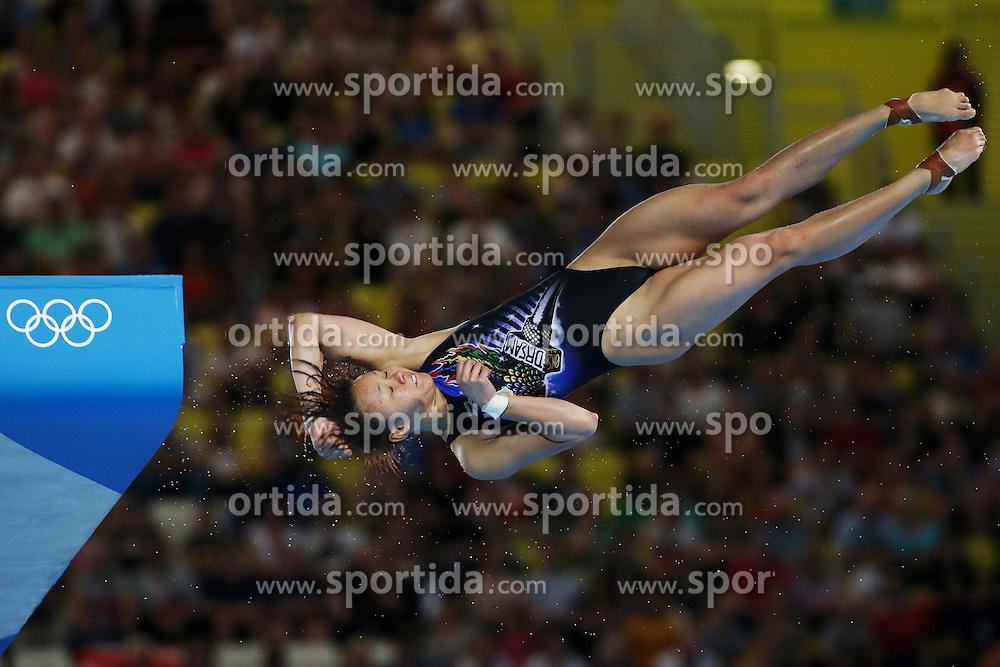 Olympic Games London 2012, 09.08.2012 .Womens 10m Platform event during the Diving on Day 13 of the London 2012 Olympic Games .Pamg  Pandelela Rinong (Malaysia).© pixathlon