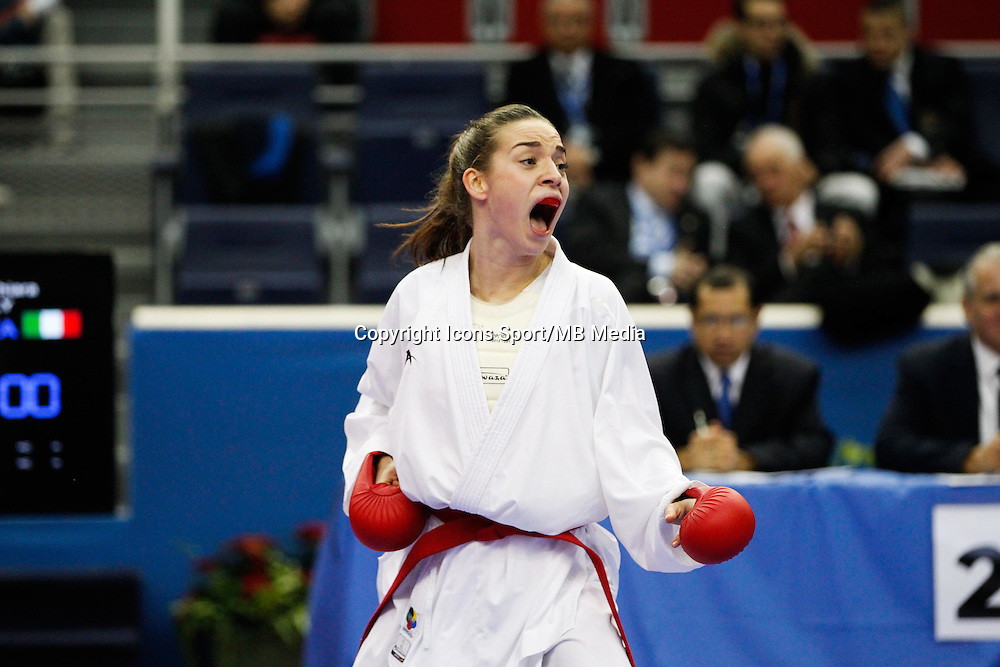 Bettina PLANK - 24.01.2015 - Open de Paris - Karate Premier League -<br />Photo : Johnny Fidelin / Icon Sport