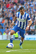 Brighton striker, Tomer Hemed on the ball during the Sky Bet Championship match between Brighton and Hove Albion and Cardiff City at the American Express Community Stadium, Brighton and Hove, England on 3 October 2015. Photo by Phil Duncan.