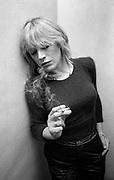 Marianne Faithfull at Island Records Fallout shelter studio 1981