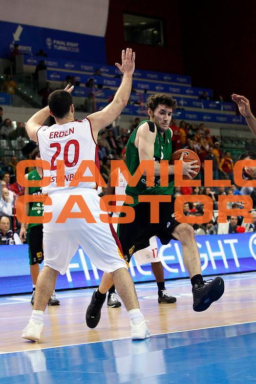 DESCRIZIONE : Torino Uleb Cup 2007-08 Final Eight Semifinale DKV Joventut Galatasaray Cafe Crown<br /> GIOCATORE : Rudy Fernandez<br /> SQUADRA : DKV Joventut<br /> EVENTO : Uleb 2007-2008 <br /> GARA : DKV Joventut Galatasaray Cafe Crown <br /> DATA : 12/04/2008 <br /> CATEGORIA : Penetrazione<br /> SPORT : Pallacanestro <br /> AUTORE : Agenzia Ciamillo-Castoria/G.Cottini