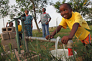 A tailings dam that holds the polluted water left over from processing platinum ore now covers the village's agricultural land. The dam will extend up the valley to cover natural springs and wetlands. Environmental researchers from WITS University predict that once the tailings enter the wetlands it will pollute the underground water and contaminate Sekuruwe's boreholes.<br />