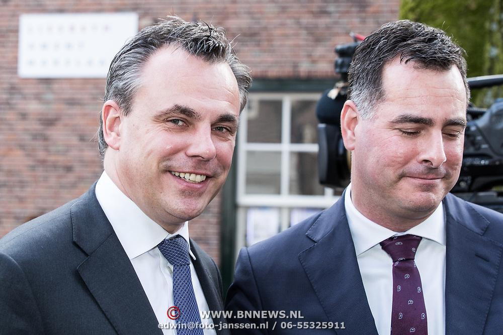 NLD/Naarden/20180330 - Matthaus Passion in de grote kerk van Naarden 2018, Mark Harbers, staatssecretaris van Justitie en Veiligheid en partner