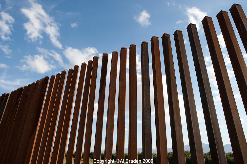 Border Fence along Rio Grande near Ft. Quitman, Texas