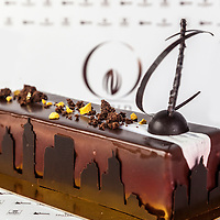 Chris Kwok's Chocolate Layered Cake. World Chocolate Masters Canadian Selection, January 20, 2013.