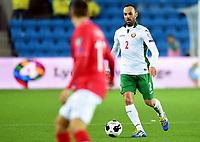 Fotball<br /> UEFA Euro 2016 Matchday 3<br /> Norge v Bulgaria / Norway v Bulgaria 2:1<br /> 13.10.2014<br /> Foto: Morten Olsen, Digitalsport<br /> <br /> Apostol Popov (2) - CSKA Sofia / BUL