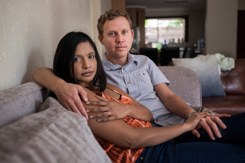 Andre and Natlie, Johannesburg North, October 2015 <br />