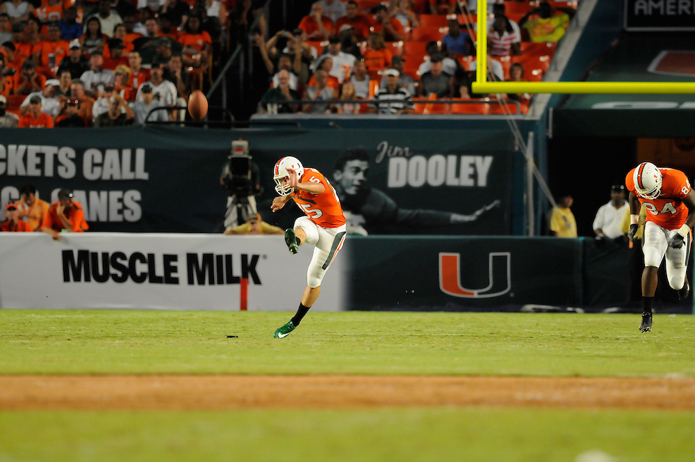 2008 Miami Hurricanes Football vs Charleston Southern