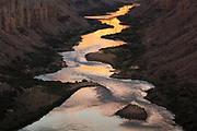 The Colorado River in Marble Canyon. From the Nankoweap granaries near river mile 53 in Grand Canyon National Park.