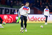 England Lewis Cook in warm up during the Friendly match between Netherlands and England at the Amsterdam Arena, Amsterdam, Netherlands on 23 March 2018. Picture by Phil Duncan.