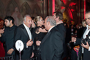 HAROLD TILLMAN; KATE MOSS; SIR PHILIP GREEN, British Fashion awards 2009. Supported by Swarovski. Celebrating 25 Years of British Fashion. Royal Courts of Justice. London. 9 December 2009