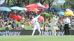 Pretoria 26-12-18. The 1st of three 5 day cricket Tests, South Africa vs Pakistan at SuperSport Park, Centurion. Day 1. Afternoon session. Pakistan bowler Shaheen Afridi during the afternoon session. Picture: Karen Sandison/African News Agency(ANA)