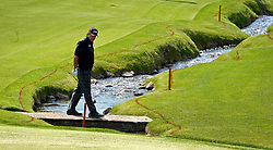 May 3, 2018 - Charlotte, NC, USA - Phil Mickelson looks for his ball along the 18th fairway during he first round of the Wells Fargo Championship at Quail Hollow Club in Charlotte, N.C., on Thursday, May 3, 2018. (Credit Image: © Jeff Siner/TNS via ZUMA Wire)