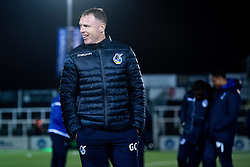 Bristol Rovers manager Graham Coughlan arrives at Hayes Lane prior to kick off - Mandatory by-line: Ryan Hiscott/JMP - 19/11/2019 - FOOTBALL - Hayes Lane - Bromley, England - Bromley v Bristol Rovers - Emirates FA Cup first round replay