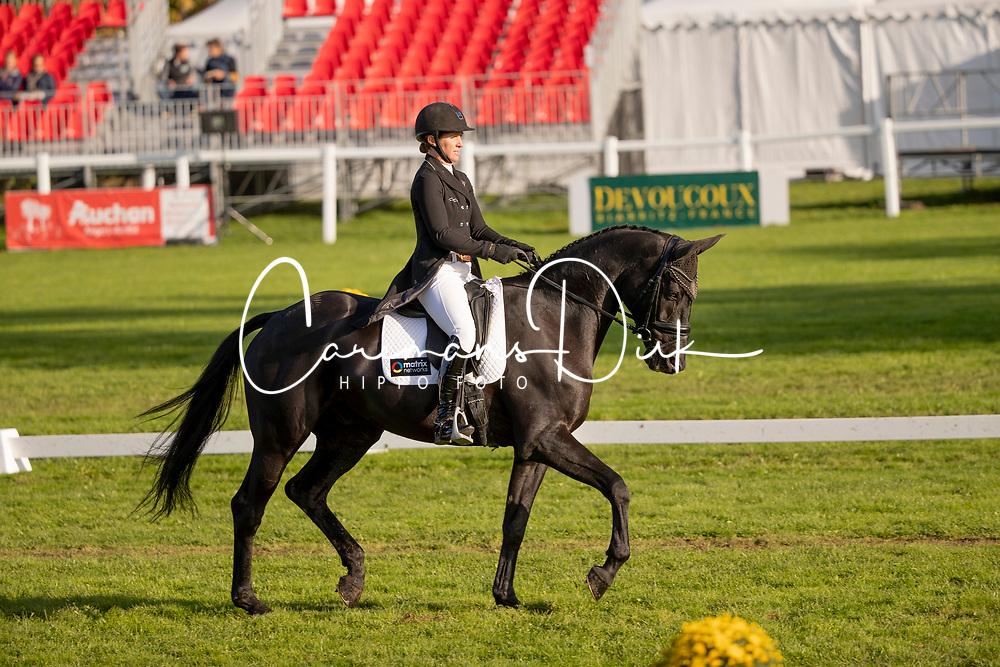 Powell Caroline, NZL, Rock Midnight<br /> Mondial du Lion - Le Lion d'Angers 2019<br /> © Hippo Foto - Dirk Caremans<br />  18/10/2019