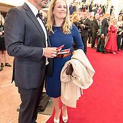NLD/'Amsterdam/20170912 - Gala van Het Nationale Ballet , Lies Visschedijk en partner Aldo