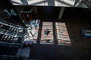 Nederland, Rotterdam, 26-06-2018<br /> Reizigers op station Rotterdam Centraal.<br /> <br /> Travelers at Rotterdam Central Station.<br /> Foto: Bas de Meijer / De Beeldunie