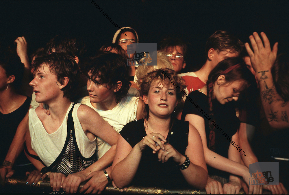 The audience attending a Spandau ballet Show