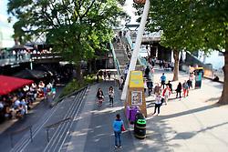 UK ENGLAND LONDON 22JUL15 - Pedestrians on the South Bank, Waterloo, London.<br /> <br /> jre/Photo by Jiri Rezac / Greenpeace<br /> <br /> © Jiri Rezac 2015
