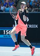 DENIS SHAPOVALOV (CAN)<br /> <br /> Tennis - Australian Open 2018 - Grand Slam / ATP / WTA -  Melbourne  Park - Melbourne - Victoria - Australia  - 17 January 2018.