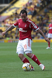 Nottingham Forest's Andy Reid  - Photo mandatory by-line: Nigel Pitts-Drake/JMP - Tel: Mobile: 07966 386802 25/08/2013 - SPORT - FOOTBALL -Vicarage Road Stadium - Watford -  Watford v Nottingham Forest - Sky Bet Championship