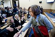 2013/01/09 Roma, Elsa Fornero, ministro del lavoro.Rome, Mrs. Elsa Fornero, italian minister of Welfare