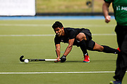 Jared Panchia of the Black Sticks at the final game of the Black Sticks v Canada Test Matches 21 October 2018. Copyright photo: Alisha Lovrich / www.photosport.nz