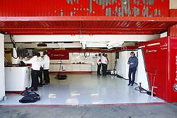 March 6, 2018 - Barcelona, Spain - Testvecka 2, Formel 1, Barcelona ..Saubers garage (Credit Image: © JerrevÃ…Ng Stefan/Aftonbladet/IBL via ZUMA Wire)