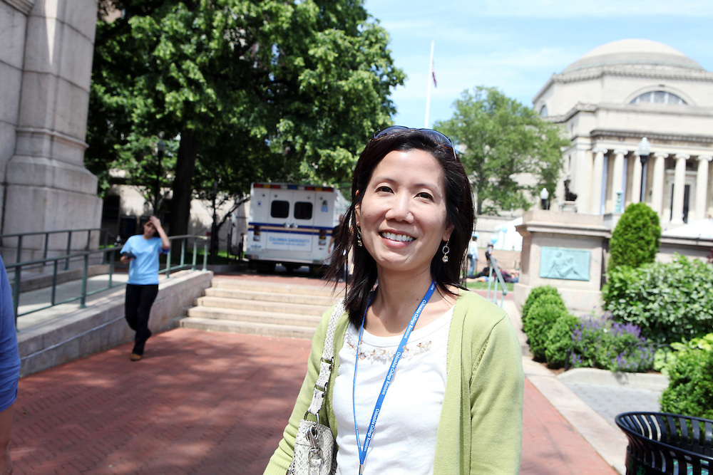 "Jane Chew '91 Physicians & Surgeons '95..""Don't go to a Chinese restaurant with tablecloths."""