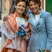 NLD/Tilburg/20170427- Koningsdag 2017, Aimee Söhngen en Marilene van den Broek