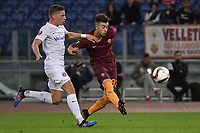 Gol Stephan El Shaarawy Roma Goal celebration 2-1 <br /> Roma 20-10-2016  Stadio Olimpico <br /> Football Calcio Europa League AS Roma - Austria Wien <br /> Foto Andrea Staccioli / Insidefoto