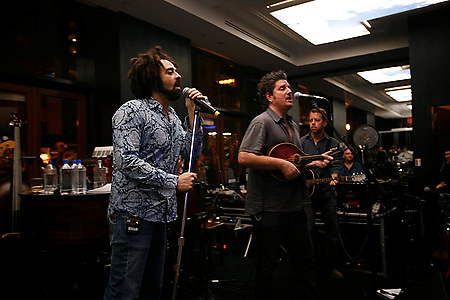 The Counting Crows at SKY360 lounge by Delta on October 21, 2007...