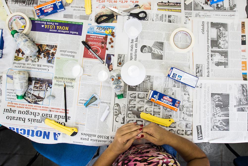 Belo Horizonte_MG, Brasil.<br /> <br /> Oficina de Bonecos Armatrux em Belo Horizonte, Minas Gerais.<br /> <br /> Doll Workshop of Armatrux in Belo Horizonte, Minas Gerais.<br /> <br /> Foto: HUGO CORDEIRO / NITRO