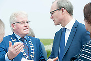 14/05/2017  Repro Free:  Minister Simon Coveney with Cllr Joe Byrne was in Kinvara to officially open the new wastewater treatment plant which was constructed following an investment of €5.1 million by Irish Water. . Photo:Andrew Downes, xposure
