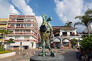 The Malecon, Puerto Vallarta, Jalisco, Mexico