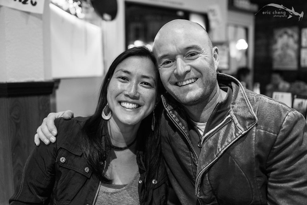 Jan Moolsington and Peter Russell-Clarke, January 12, 2013, San Francisco, CA