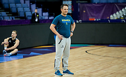Aleksander Sekulic, assistant coach of Slovenia at training session during of the FIBA EuroBasket 2017 at Hartwall Arena in Helsinki, Finland on September 4, 2017. Photo by Vid Ponikvar / Sportida