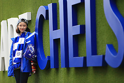 Chelsea fan pose for photos at Stamford Bridge Chelsea fans arrive at Stamford Bridge - Mandatory by-line: Jason Brown/JMP - 15/10/2016 - FOOTBALL - Stamford Bridge - London, England - Chelsea v Leicester City - Premier League