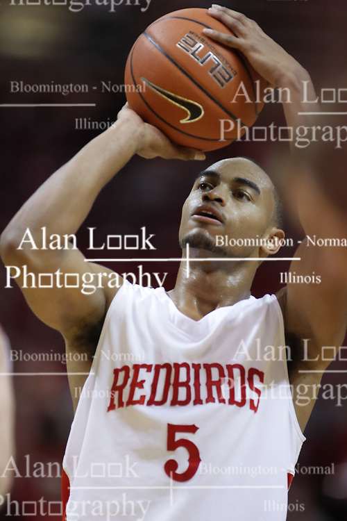 04 December 2010: Anthony Cousin during an NCAA basketball game between the Montana State Bobcats and the Illinois State Redbirds at Redbird Arena in Normal Illinois.