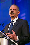 Attorney General Eric Holder, keynote speaker, at the HRC's Greater NY Gala 2014 held at the Waldorf=Astoria in New York City on Saturday, February 8, 2014. (Photo: JeffreyHolmes.com)