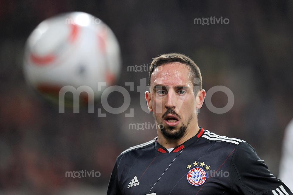 Fussball 1. Bundesliga:  Saison   2010/2011  17. Spieltag  19.12.2010 VfB Stuttgart - FC Bayern Muenchen    Franck Ribery (FC Bayern Muenchen)