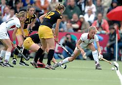 20-05-2007 HOCKEY: FINALE PLAY OFF: DEN BOSCH - AMSTERDAM: DEN BOSCH <br /> Den Bosch voor de tiende keer op rij kampioen van de Rabo Hoofdklasse Dames. In de beslissende finale versloegen zij Amsterdam met 2-0 / Fieke Holman en Jiske Snoeks<br /> ©2007-WWW.FOTOHOOGENDOORN.NL