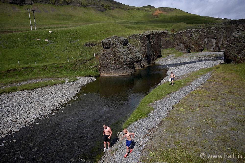 The canyon, Fjadrargljufur near Kirkjubaejarklaustur on the south coast of Iceland - Fjaðrárgljúfur við Kirkjubæjarklaustur, Sigurður Egill Karlsson, Gylfi Freyr Karlsson, Karl Sigurðsson