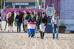 Voets Sanne, NED, Demantur<br /> FEI European Para Dressage Championships - Goteborg 2017 <br /> © Hippo Foto - Dirk Caremans<br /> 22/08/2017,