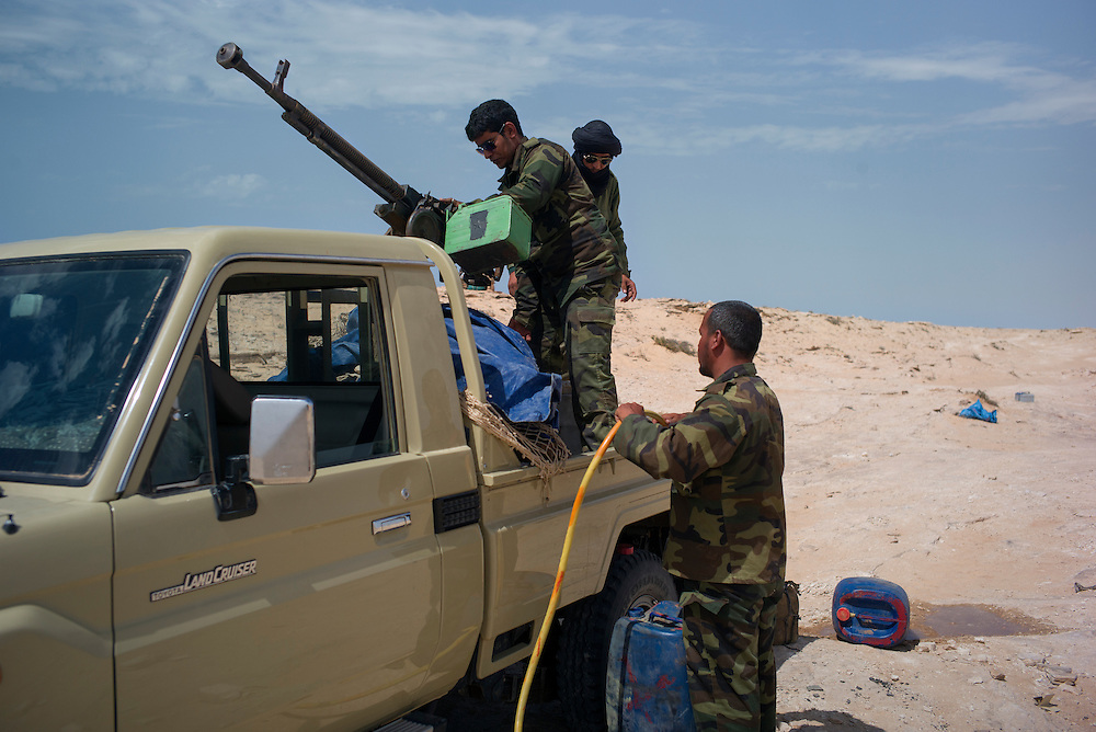 Western sahara/Guerguerat 2016-10-17<br /> Polisario soldiers is on post in the Guerguerat area, where the current tension has been building up.