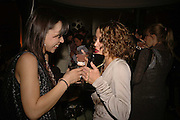 NINA BUS  AND DANNI  MINOGUE, Luella Bartley Dinner, Nobu, Berkeley St. 16 May 2006. ONE TIME USE ONLY - DO NOT ARCHIVE  © Copyright Photograph by Dafydd Jones 66 Stockwell Park Rd. London SW9 0DA Tel 020 7733 0108 www.dafjones.com