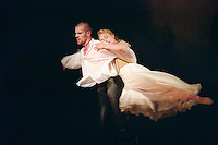 "Sarah Wildor in Adam Cooper's production of ""Liaisons Dangereuses"" in London."